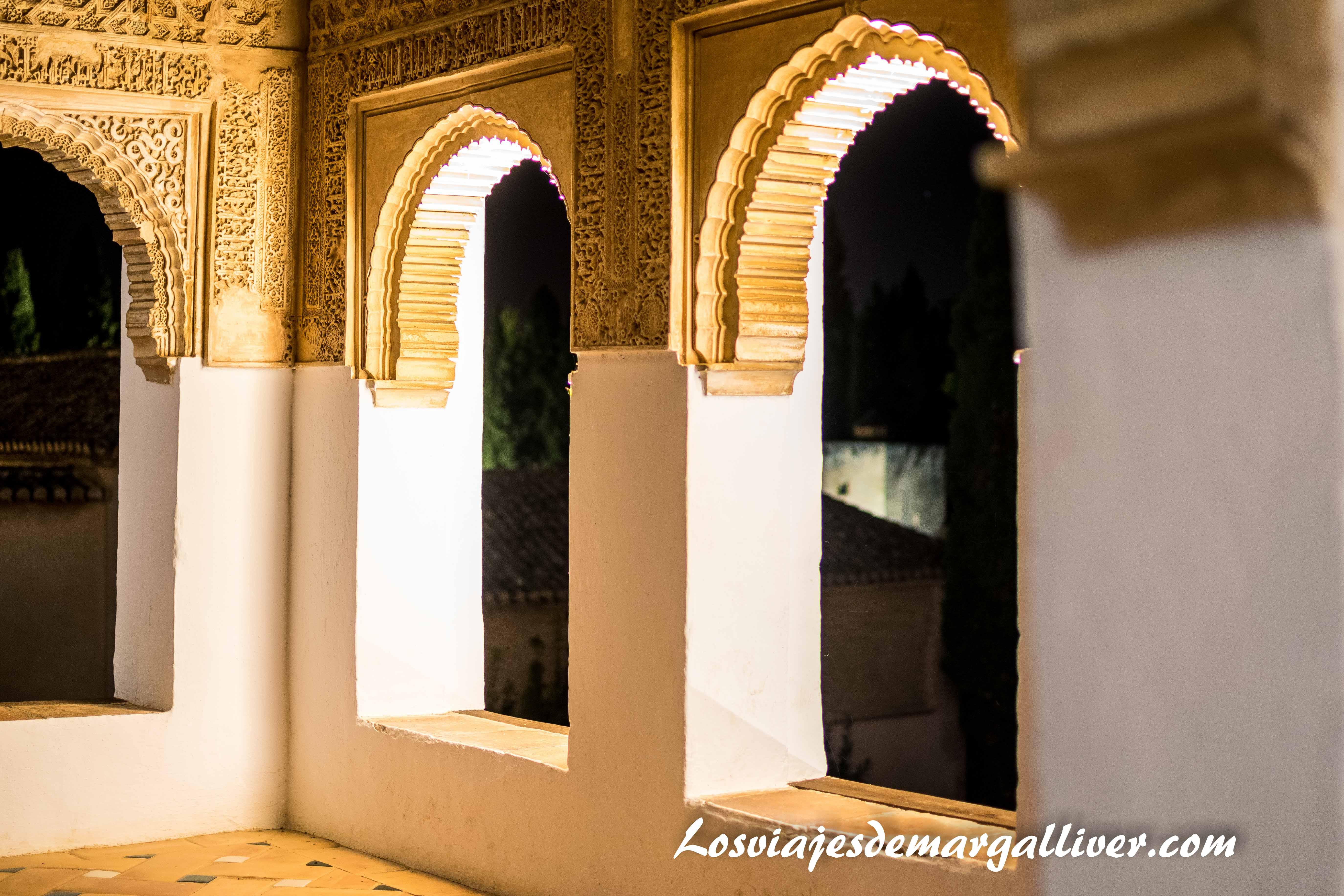 Visita al Generalife de noche , visitar Granada - Los viajes de Margalliver